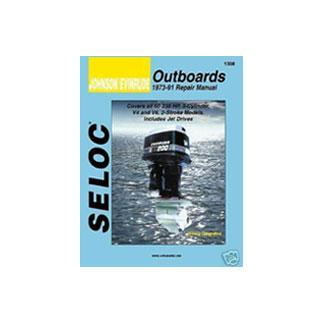 SELOC JOHNSON EVINRUDE OUTBOARD MOTOR ENGINE REPAIR MANUAL ALL MODELS 1992 -01 SEL 1311