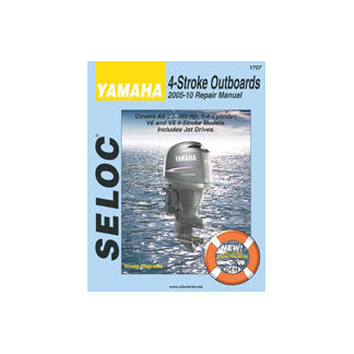 SELOC YAMAHA OUTBOARD MOTOR ENGINE REPAIR MANUAL 2005-2010 4 STROKE SEL 1707