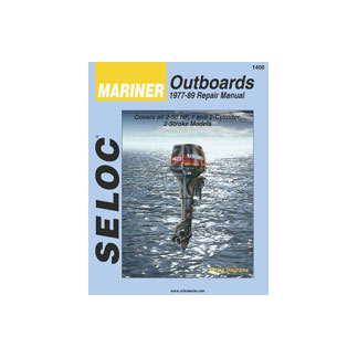 SELOC MARINER OUTBOARD MOTOR ENGINE REPAIR MANUAL 1977-89 SELOC 1400