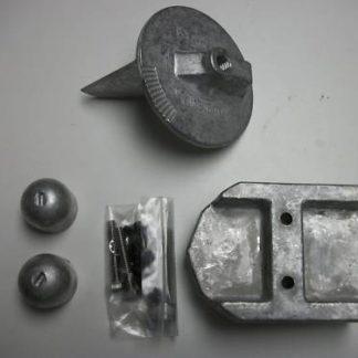 Martyr Aluminum Anode Kit Alpha Gen 1 CMALPHA1KITA