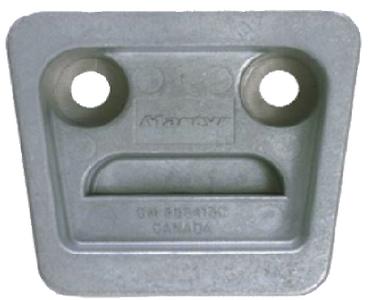 Martyr Volvo / OMC SX Gimbal Plate Anode Aluminum CM3854130A