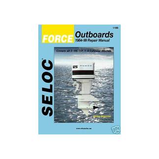 SELOC FORCE OUTBOARD  MOTOR ENGINE REPAIR MANUAL SEL 1100