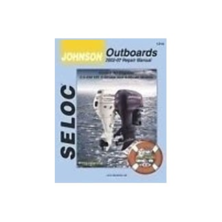 SELOC  JOHNSON OB MOTOR ENGINE REPAIR MANUALS SEL 1314