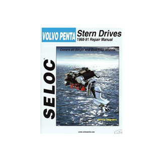 SELOC VOLVO PENTA STERN DRIVE MOTOR ENGINE REPAIR MANUAL 1968-91 SEL 3600