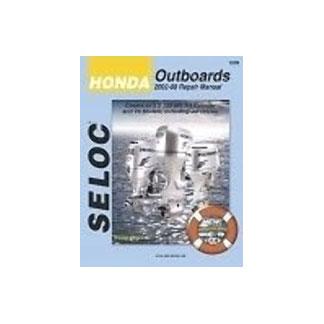 SELOC HONDA OUTBOARD MOTOR ENGINE REPAIR MANUAL SEL 1202