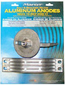 Yamaha 200-250 HP Aluminum Anode Kit Martyr CMY200250KITA