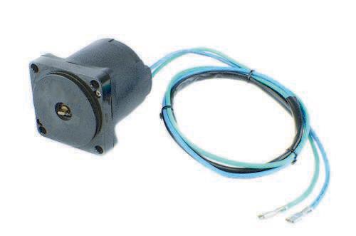 Tilt Trim Motor for Johnson Evinrude Suzuki 4 Bolt 2 Wire 43 Inch Wires 438529